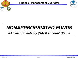 NONAPPROPRIATED FUNDS