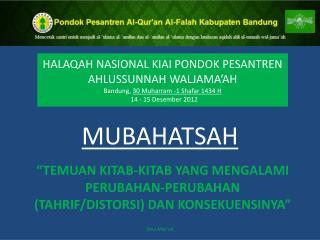 MUBAHATSAH