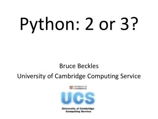 Python: 2 or 3?