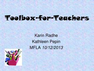 Toolbox-for-Teachers
