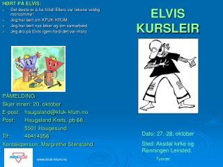 ELVIS KURSLEIR