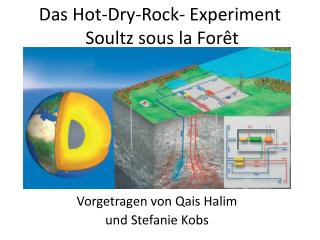 Das Hot-Dry-Rock- Experiment  Soultz sous la Forêt