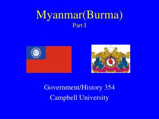 Myanmar(Burma) Part I