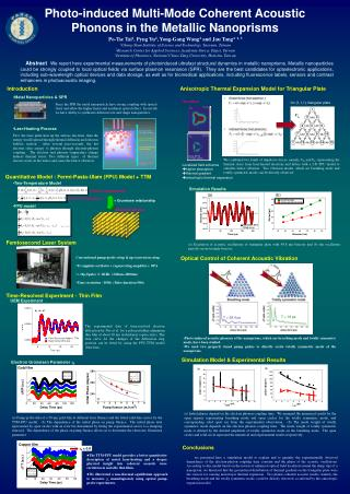 Photo-induced Multi-Mode Coherent Acoustic Phonons in the Metallic Nanoprisms