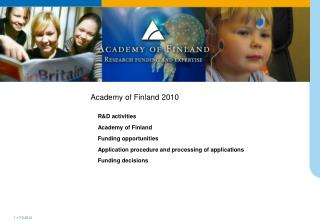 Academy of Finland 2010