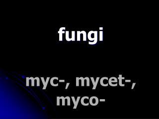 myc-, mycet-, myco-