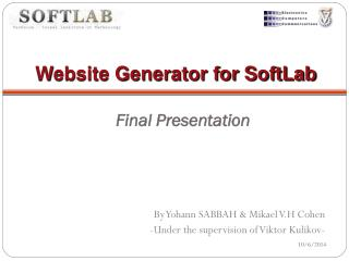 Website Generator for SoftLab