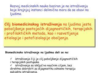 Vrste kliničkih istraživanja