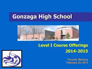 Gonzaga High School