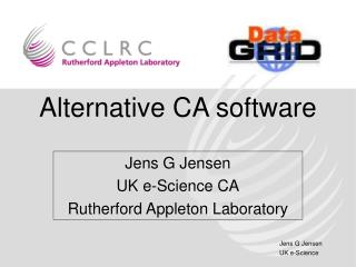 Alternative CA software