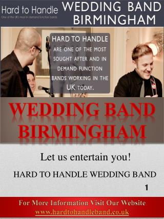 Wedding Band Shropshire