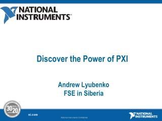 Discover the Power of PXI
