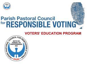 VOTERS' EDUCATION PROGRAM
