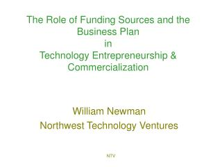 William Newman Northwest Technology Ventures