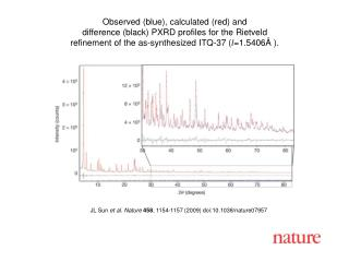 JL Sun  et al.  Nature 458 , 1154-1157 (2009) doi:10.1038/nature07957