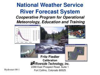 Fritz Fiedler Calibration 2290 East Prospect Road, Suite 1 Fort Collins, Colorado 80525