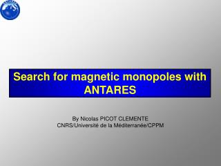 Search for magnetic monopoles with ANTARES