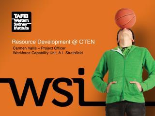 Resource Development @ OTEN