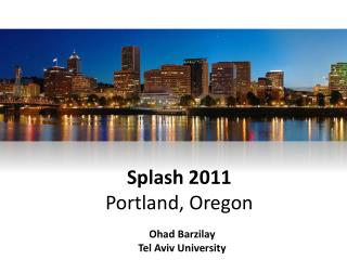 Splash 2011 Portland, Oregon