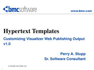 Hypertext Templates