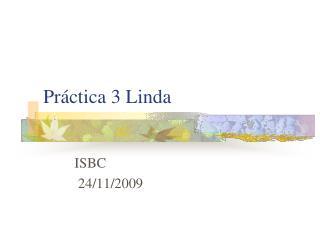 Práctica 3 Linda
