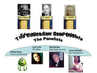The Education Czar Debate