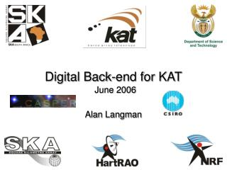 Digital Back-end for KAT