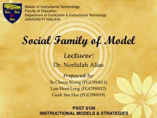Social Family of Model