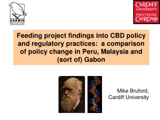 Mike Bruford,  Cardiff University
