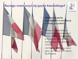 Dlaczego war t o uczy ć się języka francuskiego?