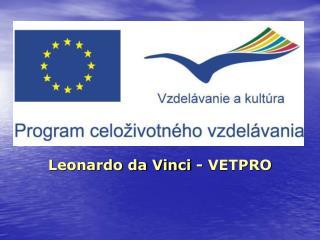 Leonardo da Vinci - VETPRO