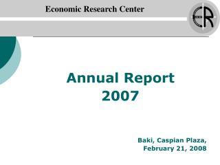 Economic Research Center