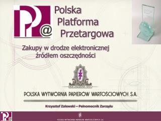 Polska   Platforma    Przetargowa