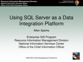 Using SQL Server as a Data Integration Platform