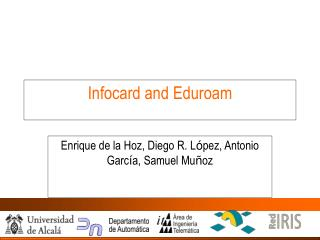 Infocard and Eduroam