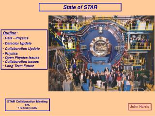 State of STAR