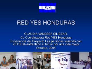 RED YES HONDURAS