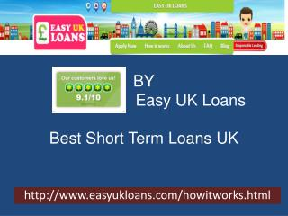 Best Short Term Loans UK