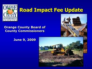 Road Impact Fee Update