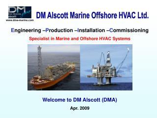 DM Alscott Marine Offshore HVAC Ltd.