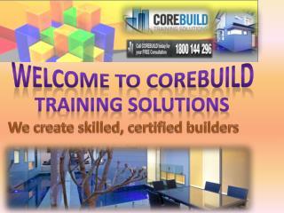 Corebuild Training Solutions
