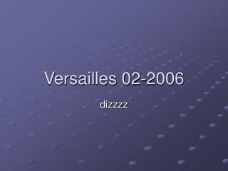 Versailles 02-2006