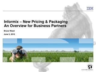 Informix – New Pricing & Packaging An Overview for Business Partners
