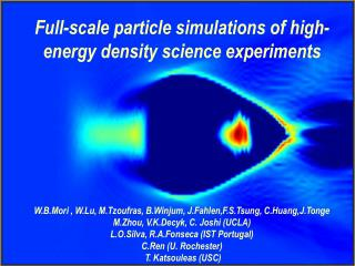 Full-scale particle simulations of high-energy density science experiments