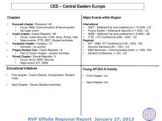 Chapters Bucuresti chapter /  Romania  / 49 Focus : R&D, Communication & Naval system