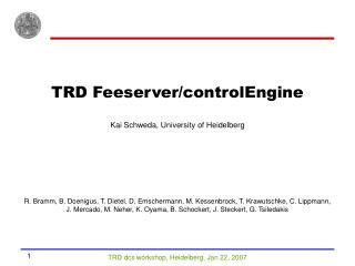 TRD Feeserver/controlEngine