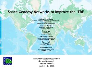 Space Geodesy Networks to Improve the ITRF