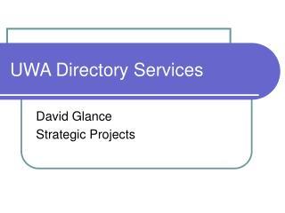UWA Directory Services