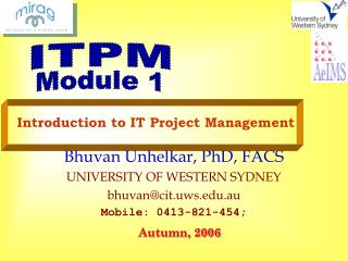 Introduction to IT Project Management