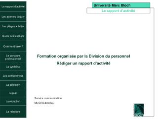 Université Marc Bloch